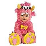 Rubies Costume Noah's Ark Pinky Winky Monster Romper Costume, Pink, 6-12 Months