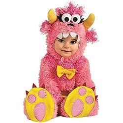 Rubie's Noah's Ark Pinky Winky Monster Romper Costume, Pink, 6-12 Months