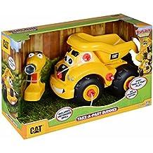 Toy State Caterpillar CAT Buildin' Crew Take-A-Part Buddies Haulin' Harry Dump Truck Light & Sound Vehicle