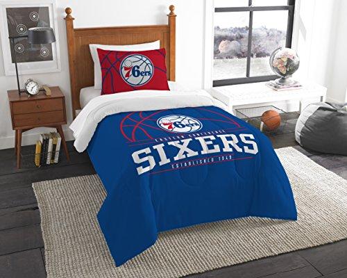 - The Northwest Company Officially Licensed NBA Philadelphia 76ers Reverse Slam Full/Queen Comforter and 2 Sham Set