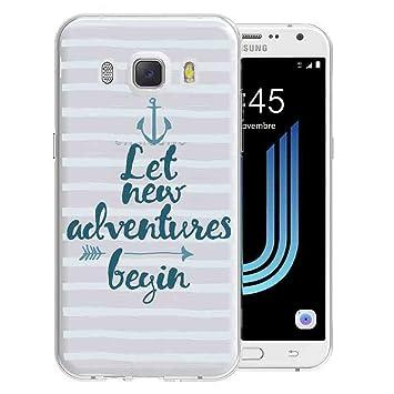 Funda carcasa TPU Transparente para Samsung Galaxy J5 2016 ...