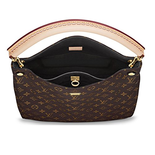 Authentic Louis Vuitton Monogram Gaia Shoulder Handbag Article:M41621 Noir Made in France