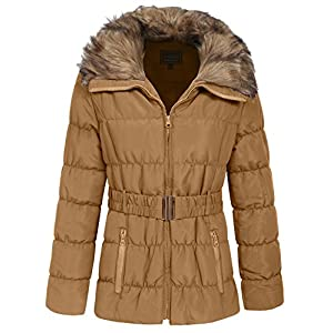 NE PEOPLE Womens Winter Quilted Light Weight Jacket Coat