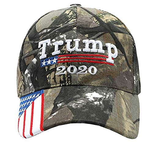 Gadsen Flags in USA Trump HAT - Donald Trump 2020 CAMO Cap - Keep America Great - MAGA Baseball Caps NOT The Ones.]()