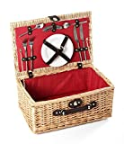 Cheap Greenfield Collection Buckingham Willow Picnic Hamper for Two People