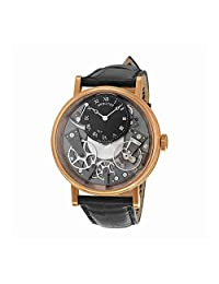 Breguet Tradition Automatic Skeleton Dial 18 kt Rose Gold Mens Watch 7057BR/G9/9W6