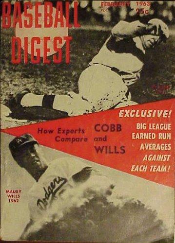 Baseball Digest February 1963 (Volume 22)