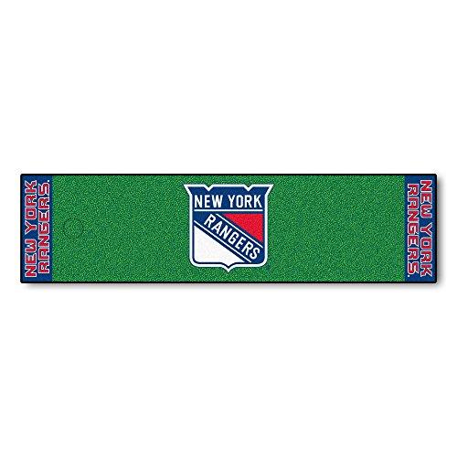 FANMATS NHL New York Rangers Nylon Face Putting Green Mat
