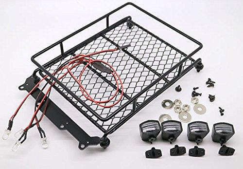 RC-110-Roof-Luggage-Rack-LED-Light-Bar-Wrangler-Tamiya-CC01-SCX10-Axial-512B