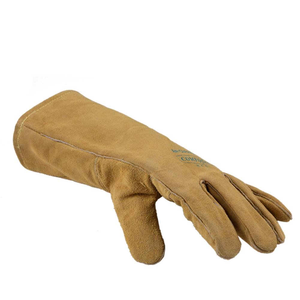 General high temperature 250 degrees heat insulation cutting welding gloves welding fire retardant soft and comfortable labor protection products by LIXIANG (Image #6)