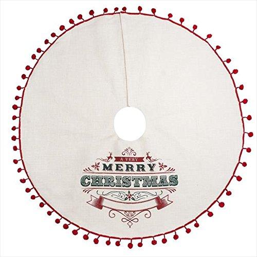 Midwest-CBK 48 A Very Merry Christmas Jute Tree Skirt 151462