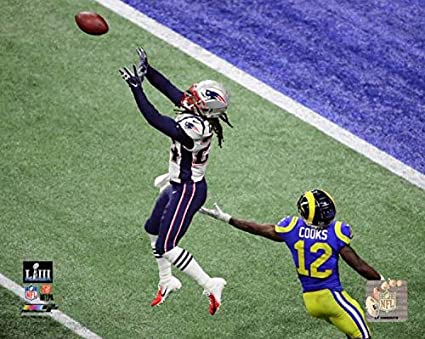 0eaaa65eb Image Unavailable. Image not available for. Color  Stephon Gilmore New  England Patriots 2019 Super Bowl LIII ...