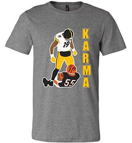 Karma Juju Schuster Vontaze Football Sarcastic Canvas Shirt