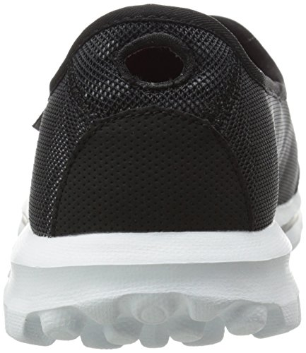 Skechers Rendimiento Go Walk Extracto Caminar Resbalón-en el zapato Black/White
