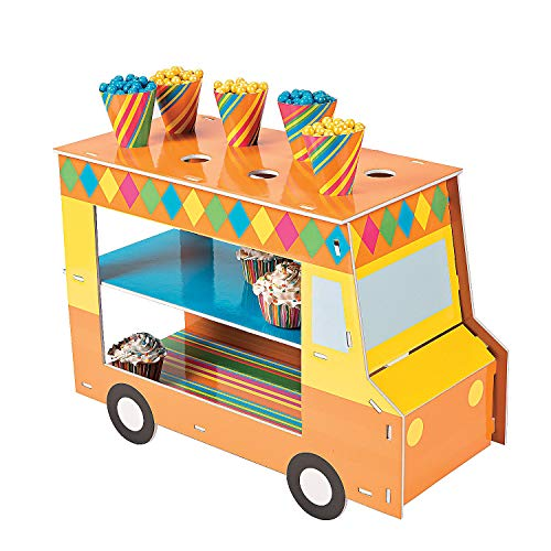 (Fun Express - Food Truck Treat Stand for Cinco de Mayo - Party Supplies - Serveware & Barware - Misc Serveware & Barware - Cinco de Mayo - 1 Piece)