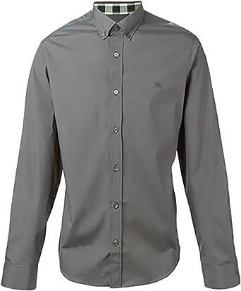 Burberry - Camiseta de manga larga - para hombre gris XXXL ...