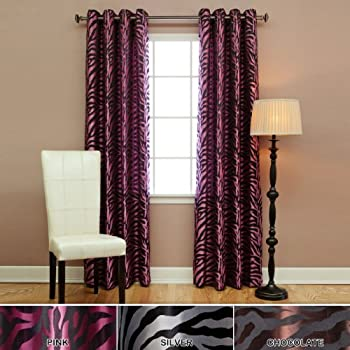 Amazon Com Best Home Fashion Room Darkening Zebra