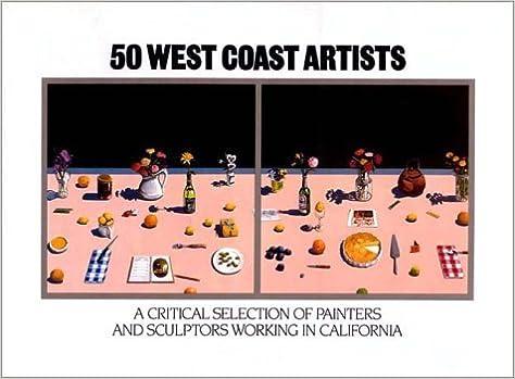 Book 50 West Coast Artists by Henry Hopkins (1981-03-01)