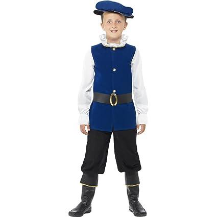 NET TOYS Traje Medieval de Noble para niños Disfraz Juvenil ...