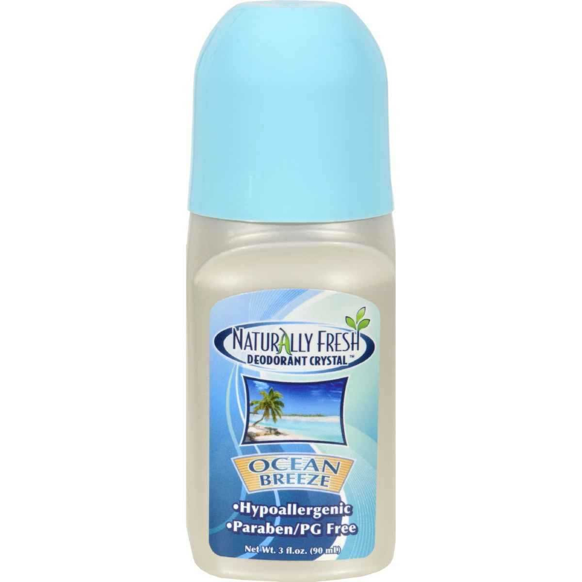 Roll-On Deodorant Ocean Breeze Naturally Fresh 3 fl oz Roll-On