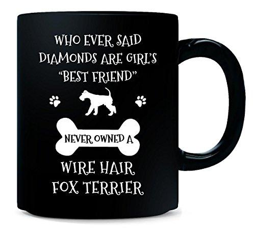 My Best Friend Is Wire Hair Fox Terrier Cool Gift - Mug (Inked Fox)