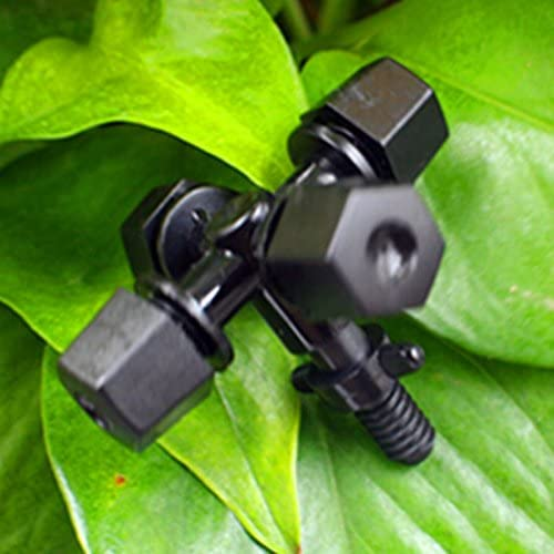 10pcs/lot jardín aspersor rociador nebulizador portátil con vaporizador de Cruz para sistema de refrigeración con 5 mm tornillo conector riego de efecto invernadero.: Amazon.es: Jardín
