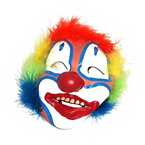 Fenical New Clown Mask for April Fools Day Costume Balls Halloween Performances (Fool Costume)