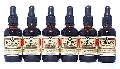 J.CROW'S¨ Lugol's Iodine Solution(2 oz.)