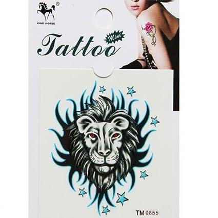 Tattoo adhesivo impermeable y sudor constelación de León Totem ...