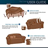 Comfy Bedding Microsuede Sofa Furniture Slipcover