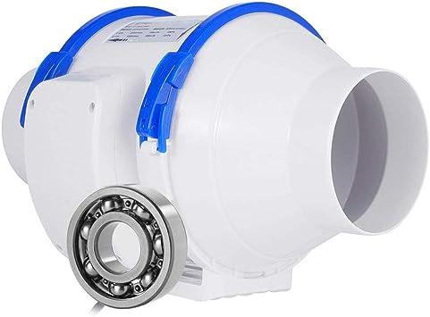 BCXGS Ventilador Extractor, Extractor de Aire Entubado con 2 ...