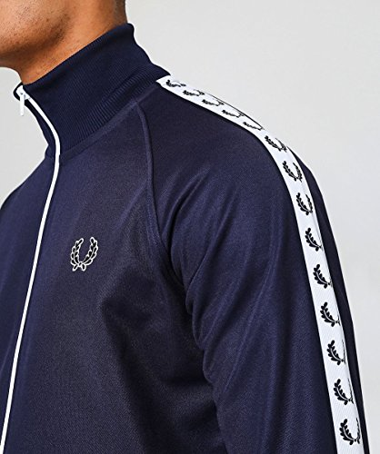 Nastro Fred Da Perry Carbone Blu Jacket Track Laurel v8v6q