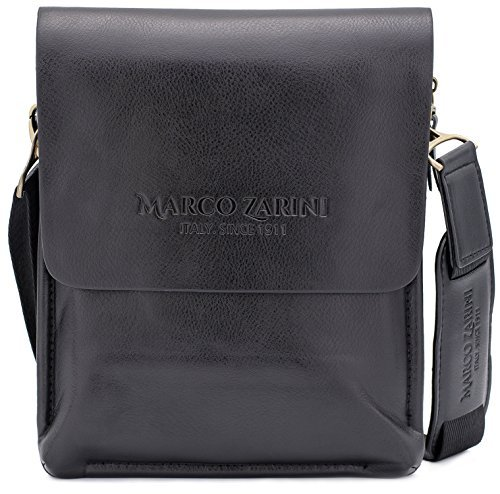 330a7dd4b6 Marco Zarini Crossbody Bag For Men Eco Leather Briefcase - Import It All