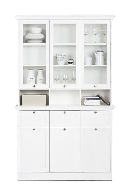 Buffet de armario Landström 50 de colour blanco 120 x 200 x 40 cm ...