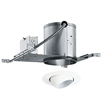 Superior 6 Inch Recessed Lighting Kit With Eyeball Trim