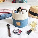 OZZOY Fashion Women Makeup Bag Hanging Toiletries Travel Kit Jewelry Organizer Cosmetic Bag Wth a Mini Bag