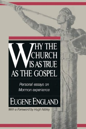 A Professor and Apostle Correspond: Eugene England and Bruce R. McConkie on the Nature of God