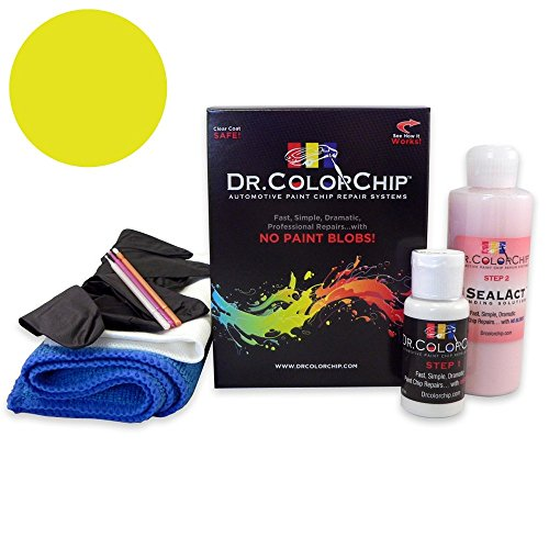 Price comparison product image Dr. ColorChip Volvo All Models Automobile Paint - Light Yellow 526 - Road Rash Kit