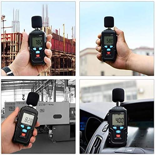 CITW Sound Level Meter,Handheld Digital Decibel Meter, With Noise Measurement Reader Range 35-135 DBA,Max/Min/Hold Data, Fast/Slow Mode