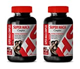Best Male Enhancing Pills Erection - Super MACA Complex 2070 Mg - Extra Strength - maca Root Capsules for Fertility - 2 Bottles 120 Capsules