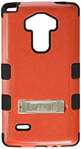 MyBat Cell Phone Case for LG LS770 (G Stylo) & Other LG Smartphones - Retail Packaging - Black/Red
