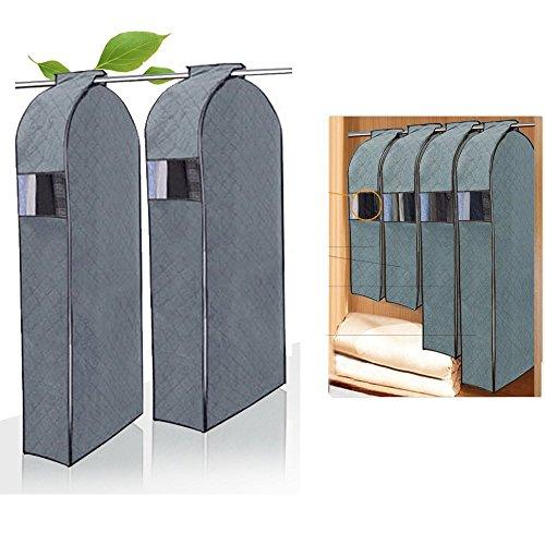 Garment Protector Bag,DiDaDi  Breathable Bamboo Charcoal Dus
