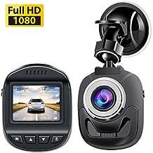 Accfly Mini Dash Cam 1080P, Car Camera 120 Degree Wide Angle Lens Digital Car Dashboard Camera Driving Video Recorder WDR, Loop Recording, Motion Detection G-Sensor