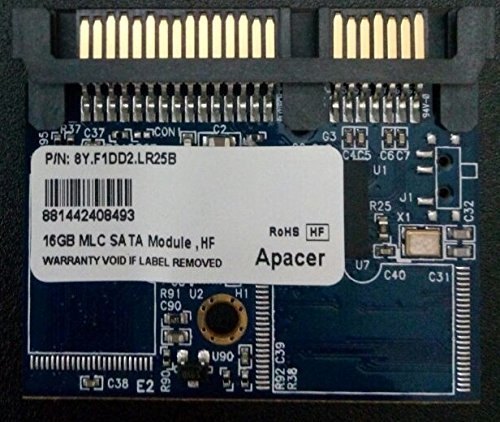 Apacer 16GB MLC SATA SSD for Thin Client, Internal HDD Hard Drive Solid State