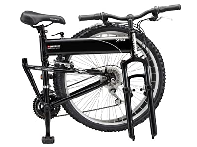 "SwissBike X50 18-Speed Mountain Bike 20"" Gloss Black"