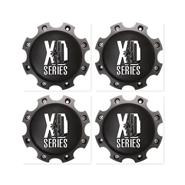 4-Pack-KMC-XD-Series-1079L170MB-Wheel-Center-Cap-8-Lug