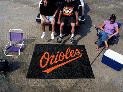 (Fan Mats Baltimore Orioles Tailgater Rug, 60