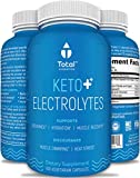 Keto Electrolyte Supplement - Plant-Based Keto Electrolytes Tablets w Sodium, Potassium, Magnesium - Electrolyte Pills w Rapid Hydration Multiplier Effect - 100 Count