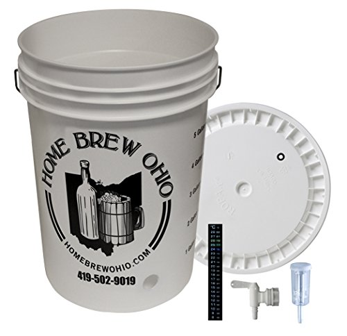 Home Brew Ohio B014HTQSKU FBA_Does Not Apply Plastic Fermentation Kit, Multi by Home Brew Ohio