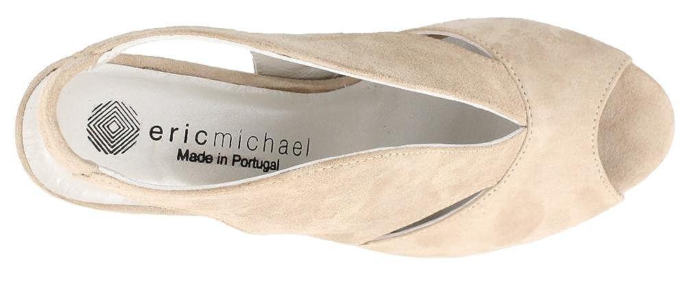 Peru High Heel peep Toe Sandals Eric Michael Womens